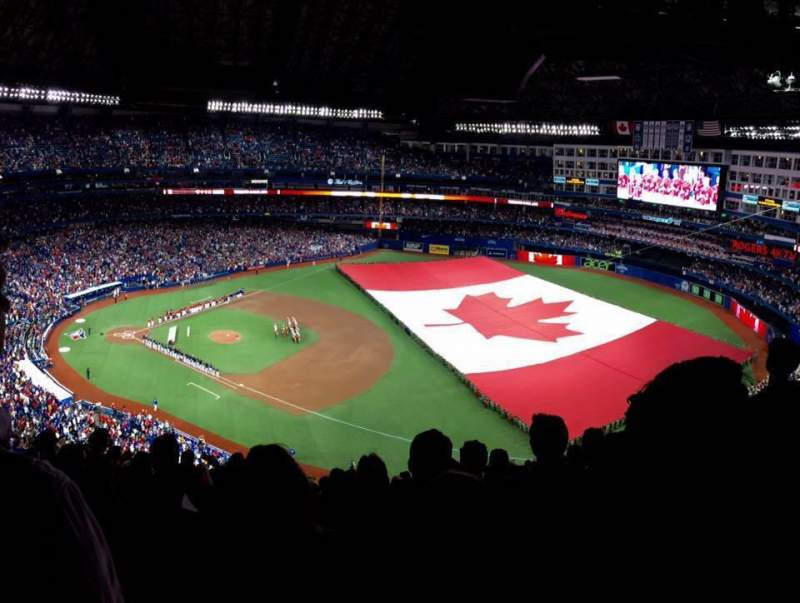 Seating view for Rogers Centre Section 515R Row 26 Seat 12