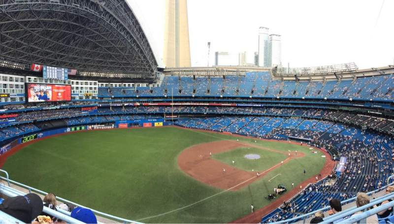 Seating view for Rogers Centre Section 535R Row 5 Seat 9