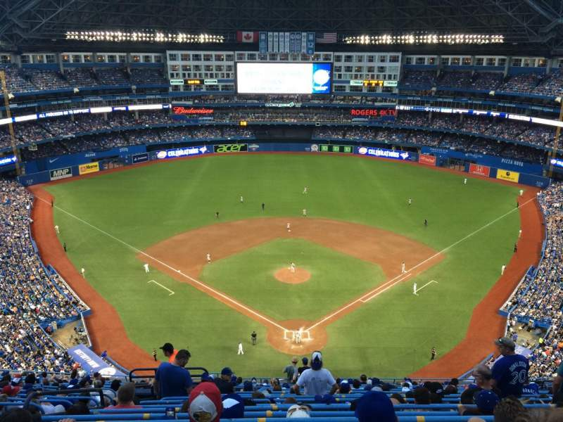 Seating view for Rogers Centre Section 524BR Row 20 Seat 5