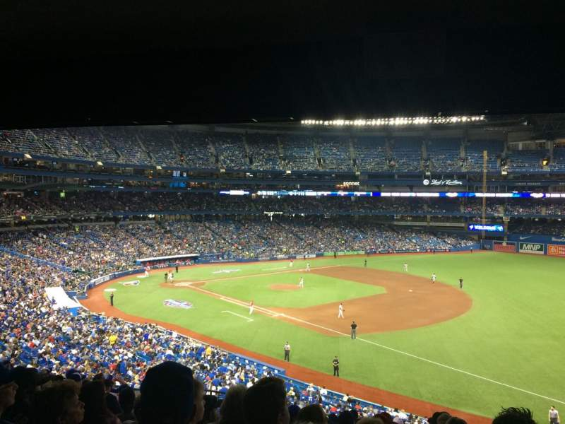 Seating view for Rogers Centre Section 214R Row 12 Seat 5