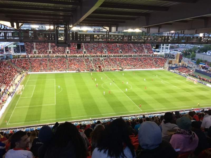 BMO Field, section: 209, row: 35, seat: 15