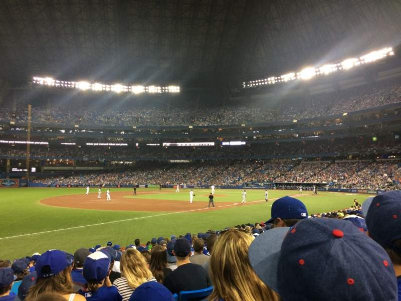 Seating view for Rogers Centre Section 130AL Row 16 Seat 111