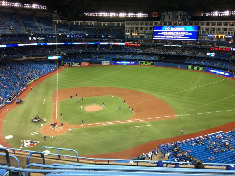 Seating view for Rogers Centre Section 521R Row 7 Seat 2