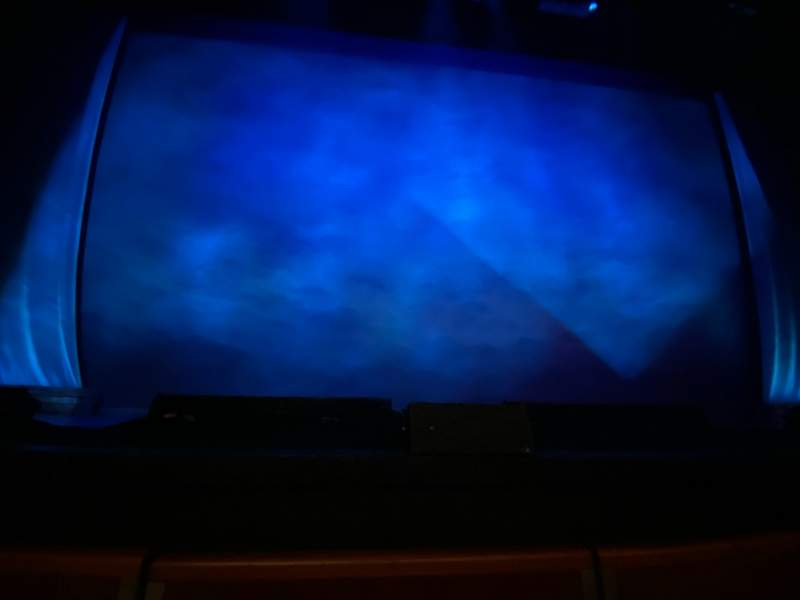 Seating view for Au-Rene Theatre at the Broward Center Section Orchestra C Row A Seat 107
