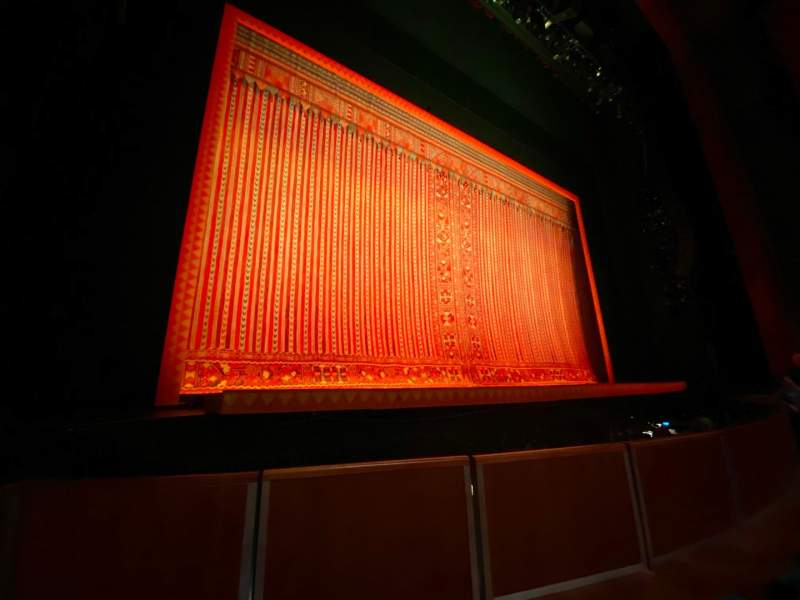 Seating view for Au-Rene Theatre at the Broward Center Section Orchestra L Row E Seat 7