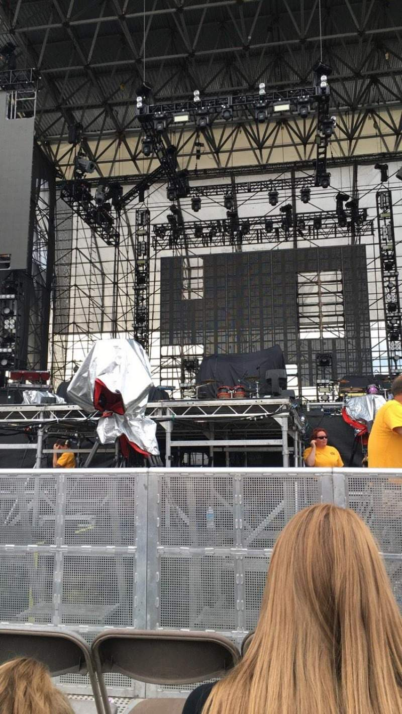 Seating view for Hershey Park Stadium Section B Row 11 Seat 19