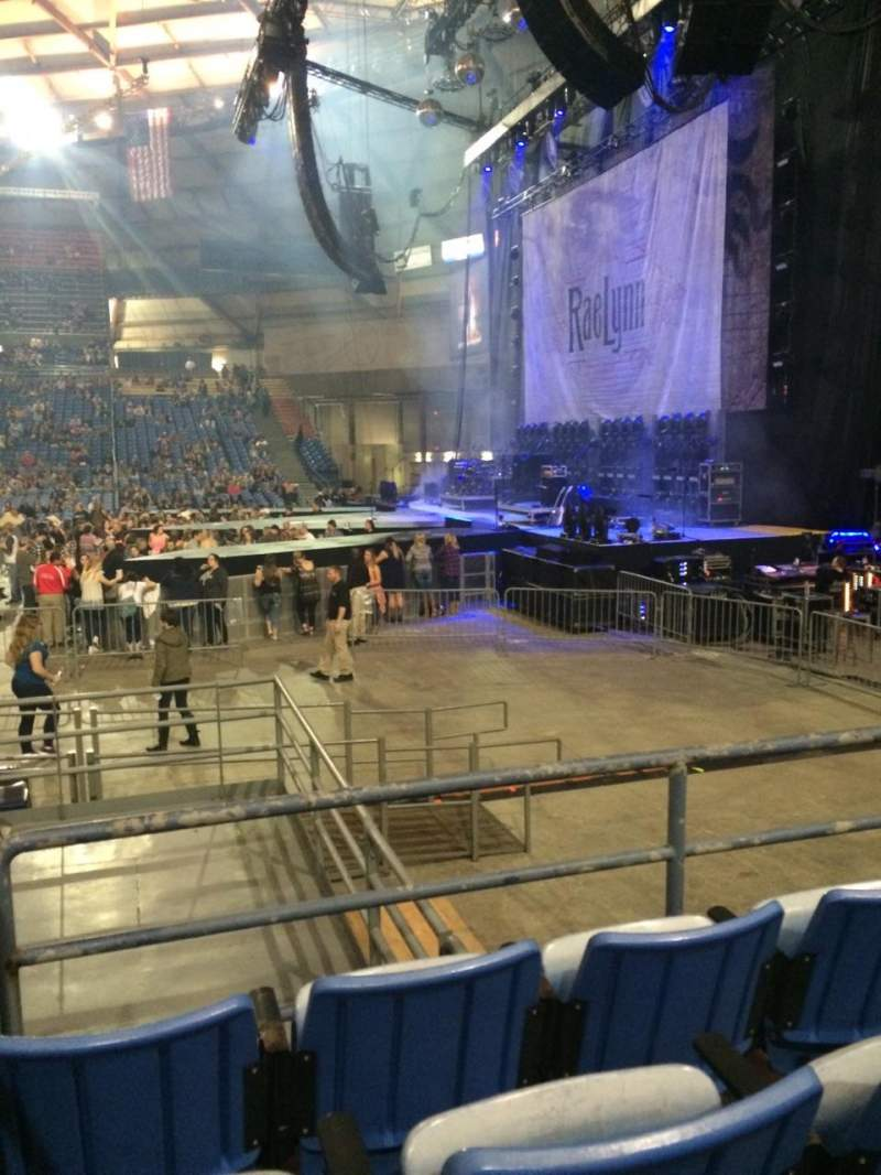 Seating view for Tacoma Dome Section 9A Row 18 Seat 14
