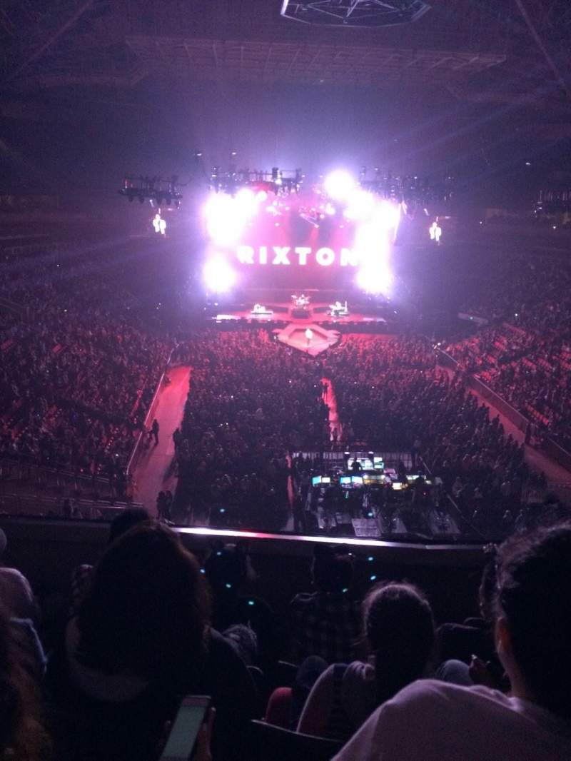 Seating view for KeyArena Section 206 Row 4 Seat 7-8