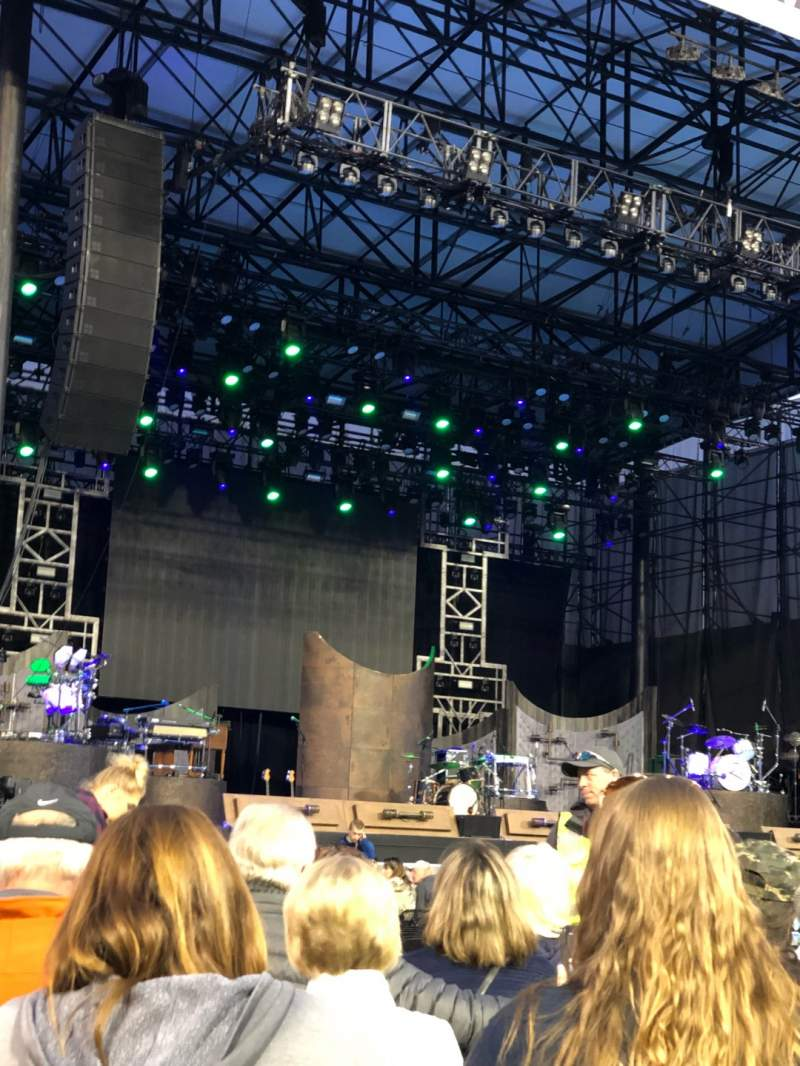 Seating view for Grandstand at the Washington State Fair Section G Row 8 Seat 11