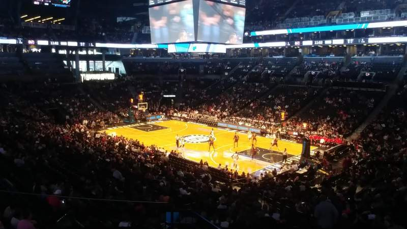 Barclays Center, section: 120, row: 8, seat: 22