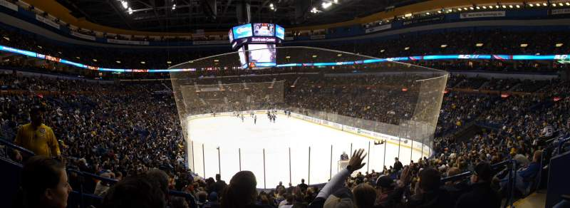 Seating view for Scottrade Center Section 124 Row T Seat 4