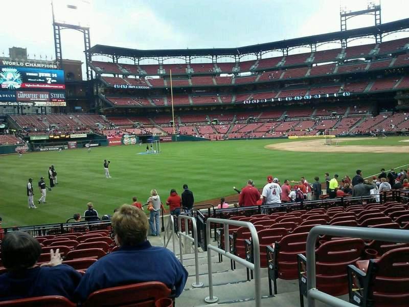 Busch Stadium Section 167 Home Of St Louis Cardinals