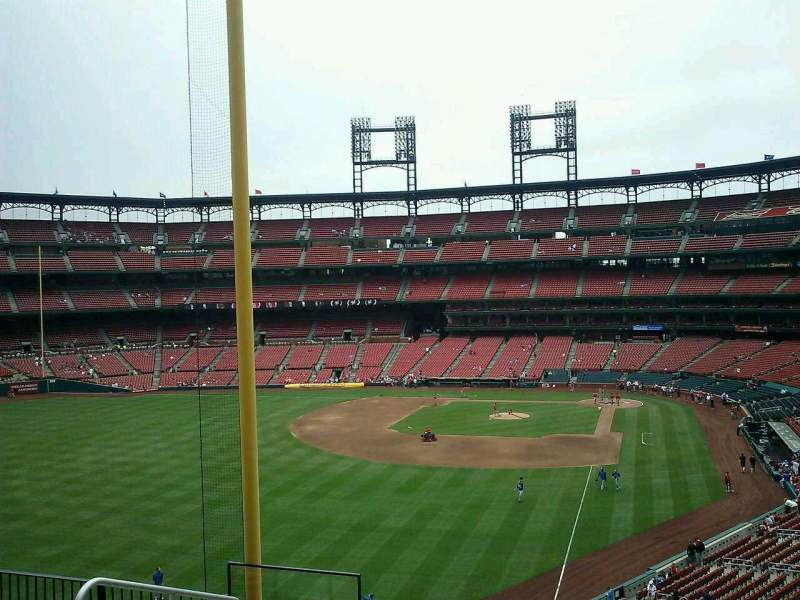 Seating view for Busch Stadium Section 270 Row 7 Seat 20