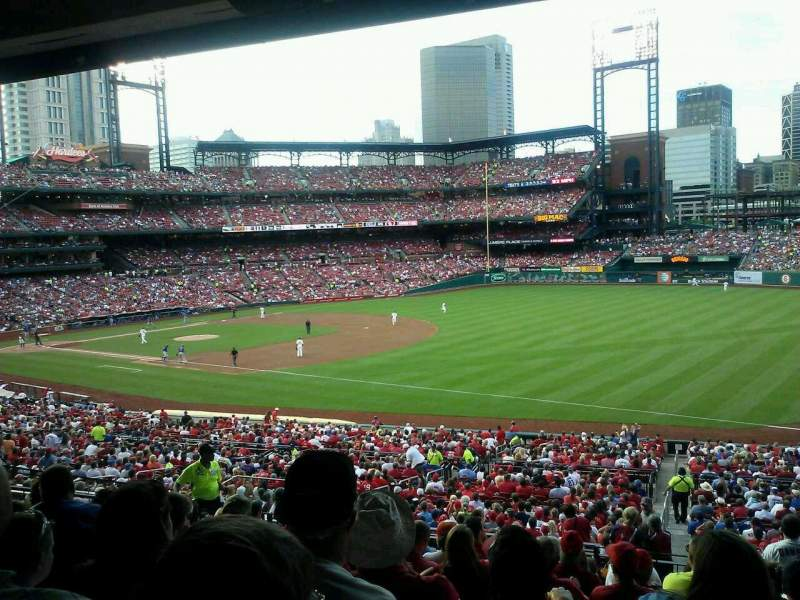 Seating view for Busch Stadium Section 135 Row 29 Seat 11