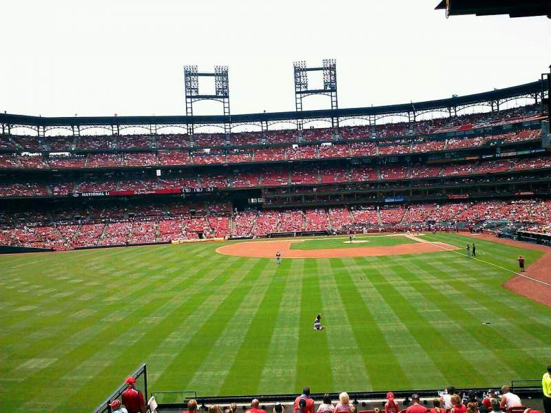 Seating view for Busch Stadium Section 589B Row wc Seat 6