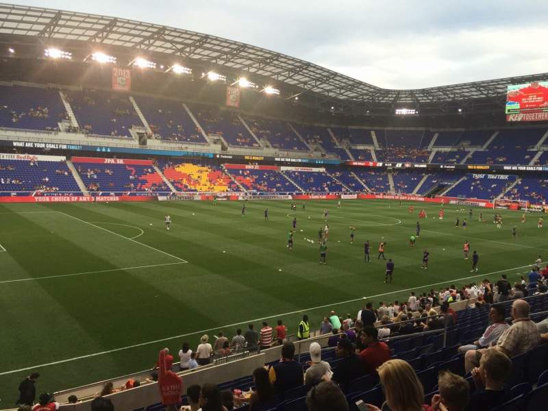 Seating view for Red Bull Arena Section 113 Row 16 Seat 17