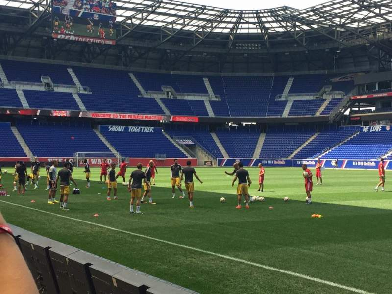 Seating view for Red Bull Arena Section 124 Row 2 Seat 4