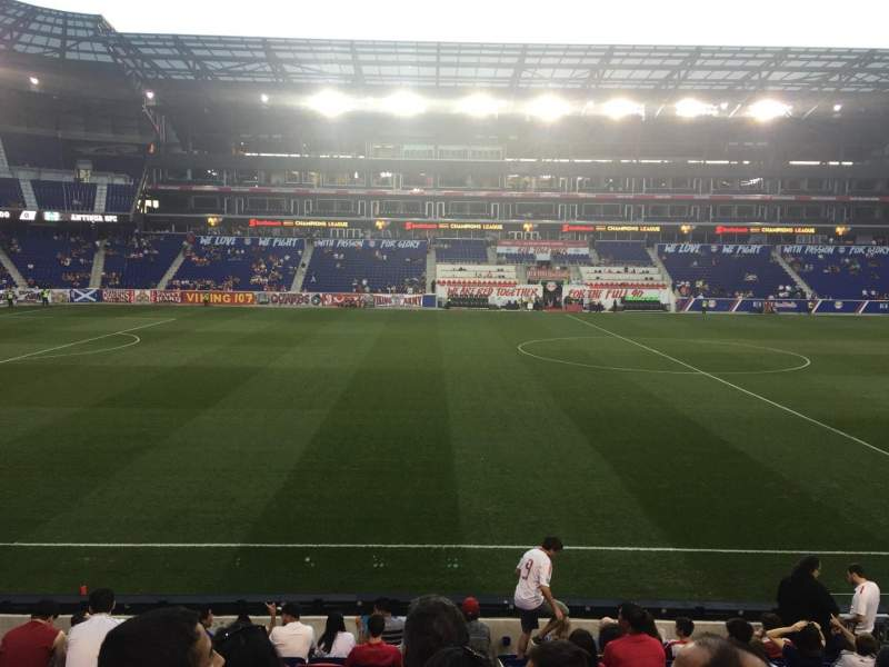 Seating view for Red Bull Arena Section 127 Row 12 Seat 10