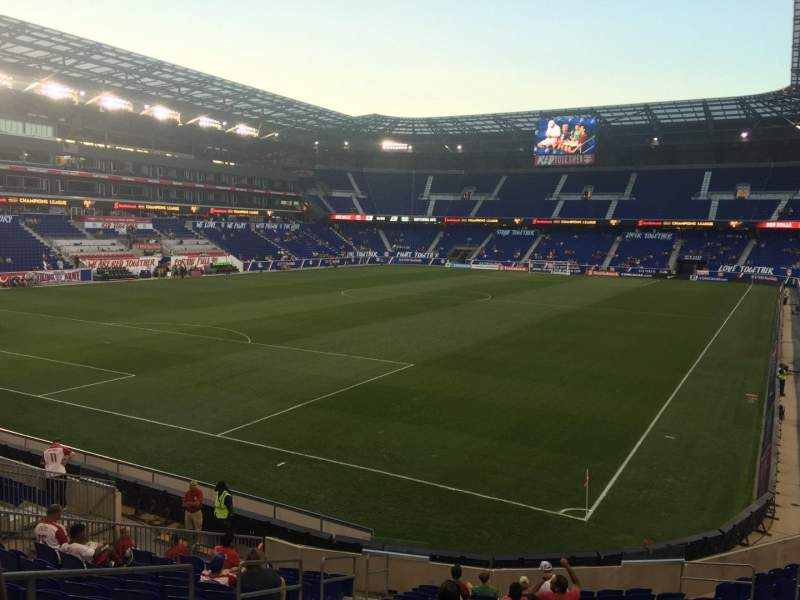 Seating view for Red Bull Arena Section 131 Row 16 Seat 16