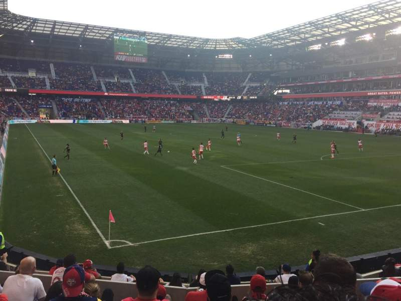 Seating view for Red Bull Arena Section 121 Row 10 Seat 12