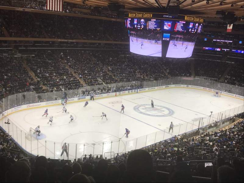 Madison Square Garden, section: 220, row: 9, seat: 23