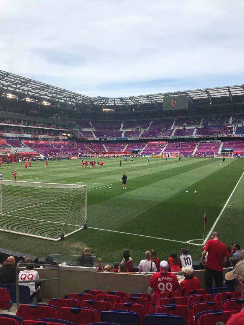 Red Bull Arena Section 131 Row 8 Seat 10 New York Red Bulls