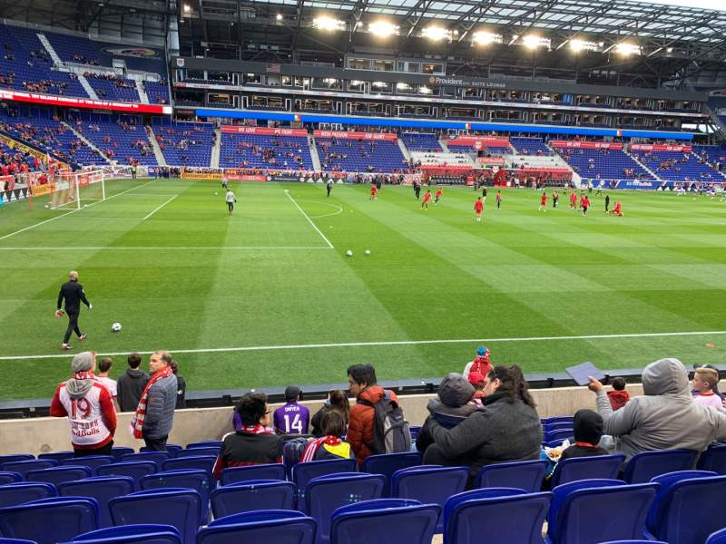 Seating view for Red Bull Arena Section 128 Row 9 Seat 25
