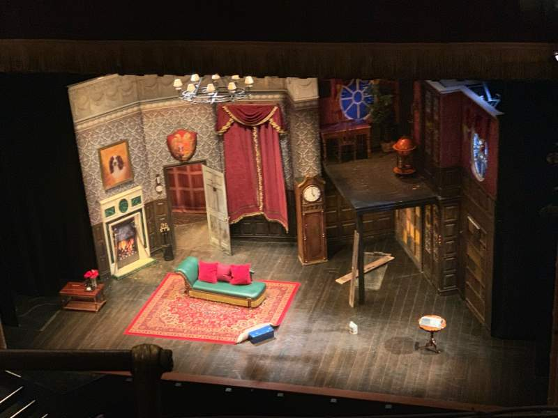 Seating view for Lyceum Theatre (Broadway) Section Balcony R Row C Seat 4