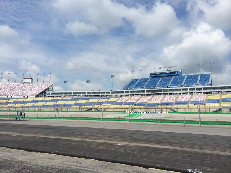 Seating view for Kentucky Speedway Section Infield