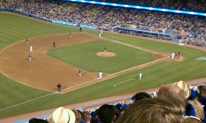 Seating view for Dodger Stadium Section 31rs Row n Seat 11