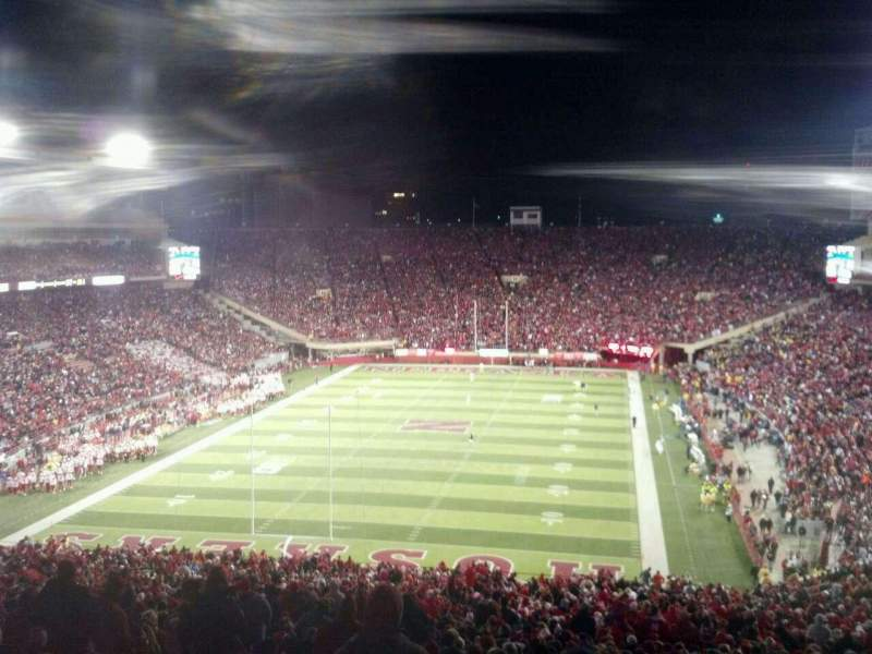 Seating view for Memorial Stadium Section 35 Row 91 Seat 26
