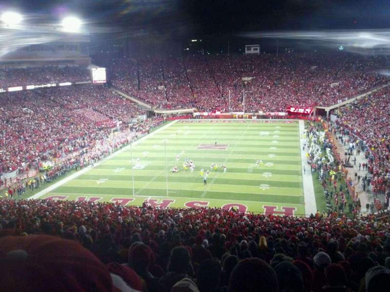 Seating view for Memorial Stadium Section 35 Row 91 Seat 25