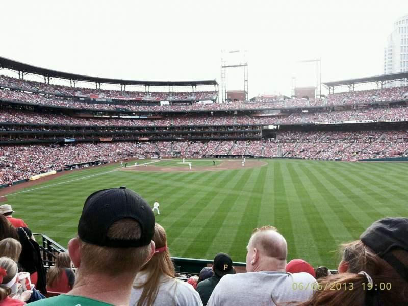 Seating view for Busch Stadium Section 507 Row 25 Seat 11