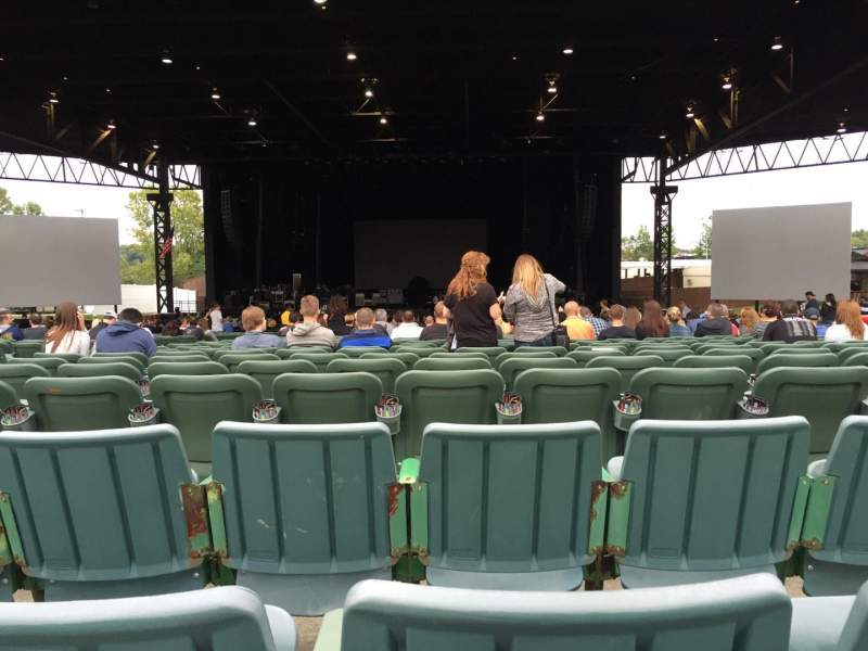 Seating view for KeyBank Pavilion Section 6 Row JJ Seat 35