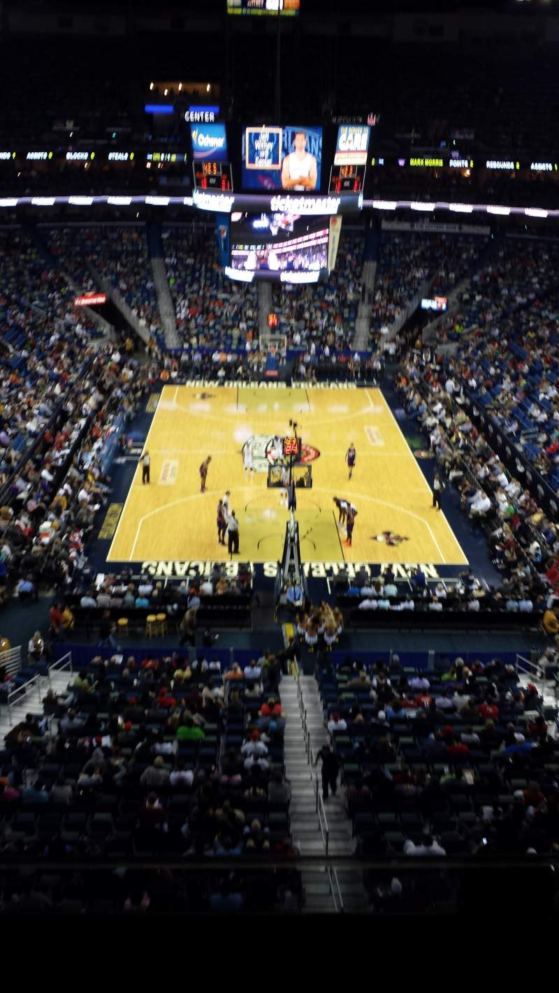 Seating view for Smoothie King Center Section 309 Row 2 Seat 2