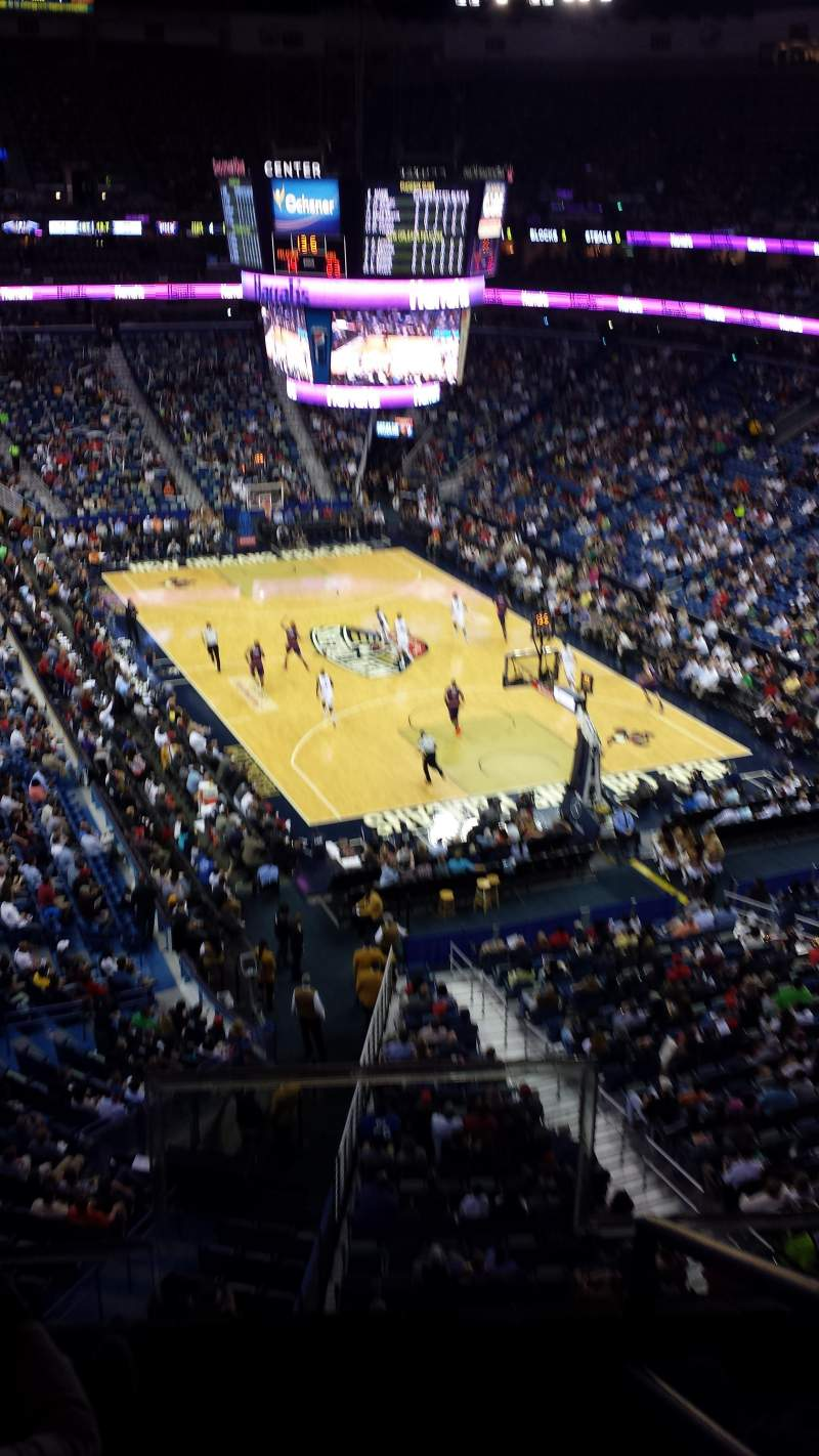 Seating view for Smoothie King Center Section 311 Row 2 Seat 2