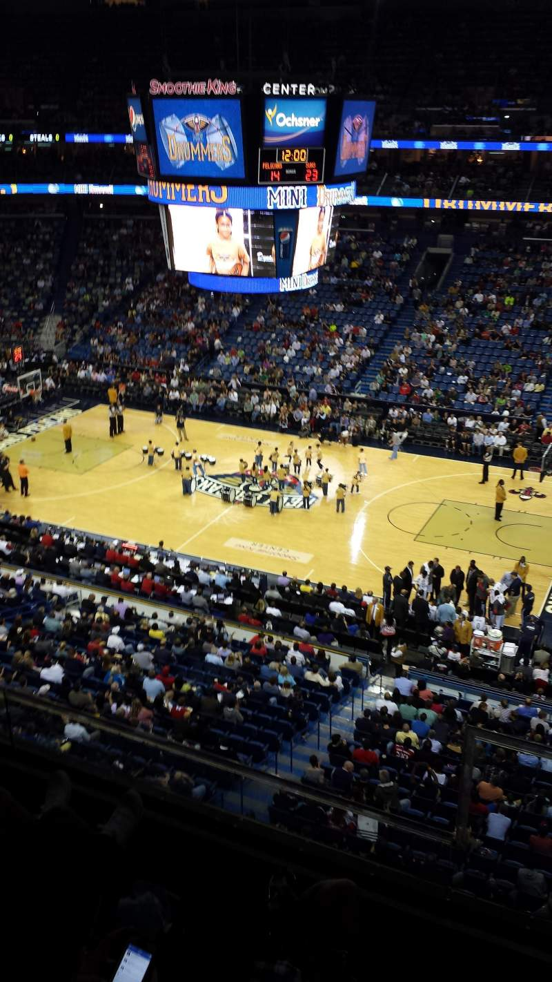 Seating view for Smoothie King Center Section 315 Row 2 Seat 2