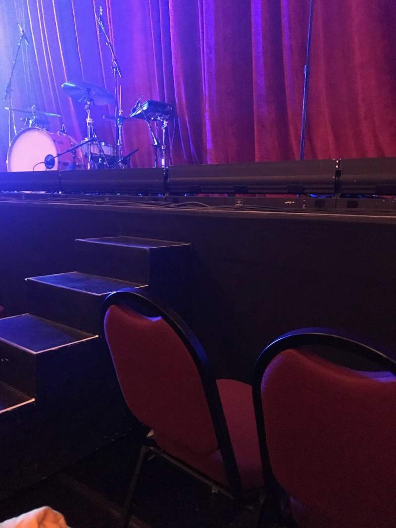 Seating view for Chicago Theatre Section Orchestra 4L Row BBB Seat 413
