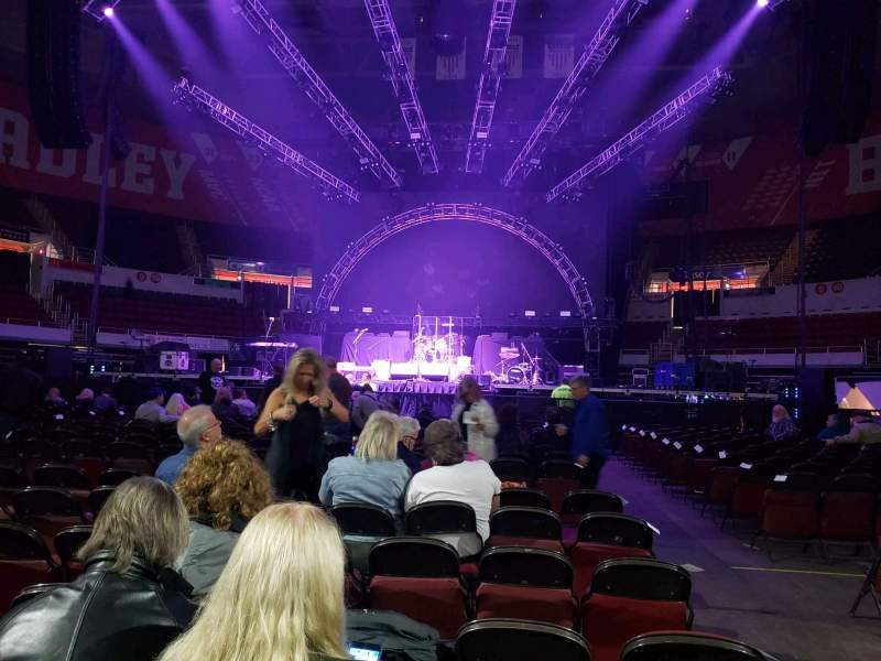 Seating view for Peoria Civic Center Theater Section Floor B Row 17 Seat 2