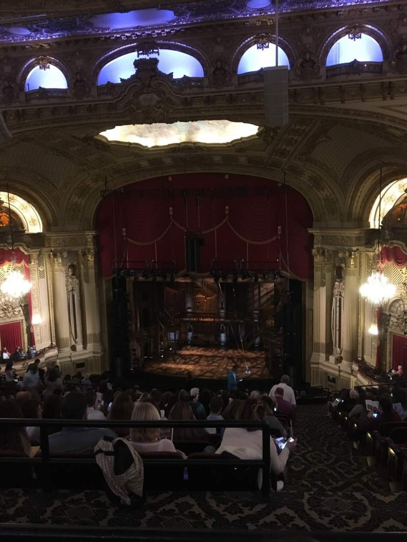 Seating view for Citizens Bank Opera House Section Ctr Balcony Row Q Seat 14