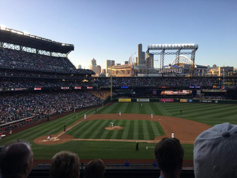 Seating view for Safeco Field Section 223 Row 4 Seat 7