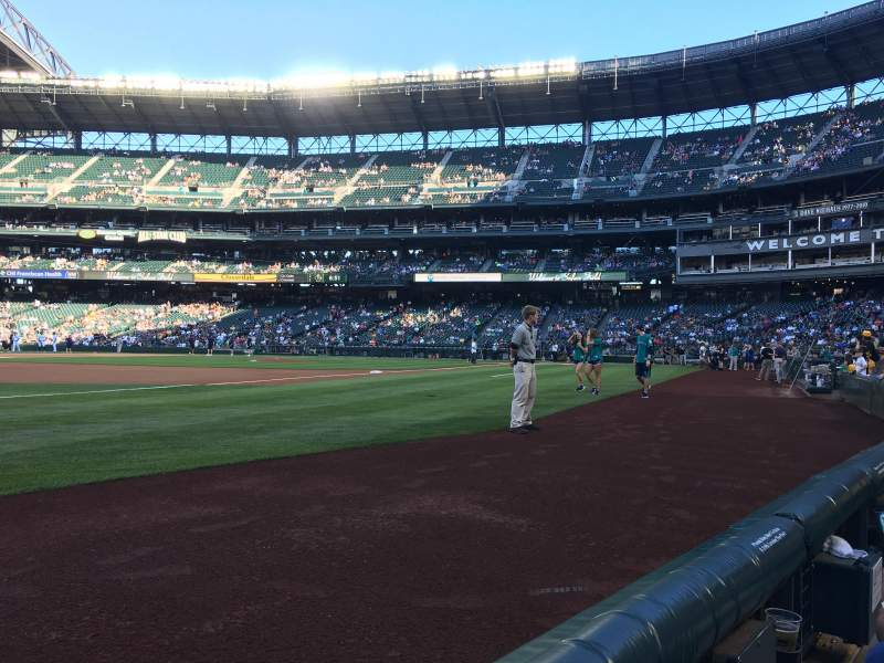 Seating view for Safeco Field Section 146 Row 1 Seat 14