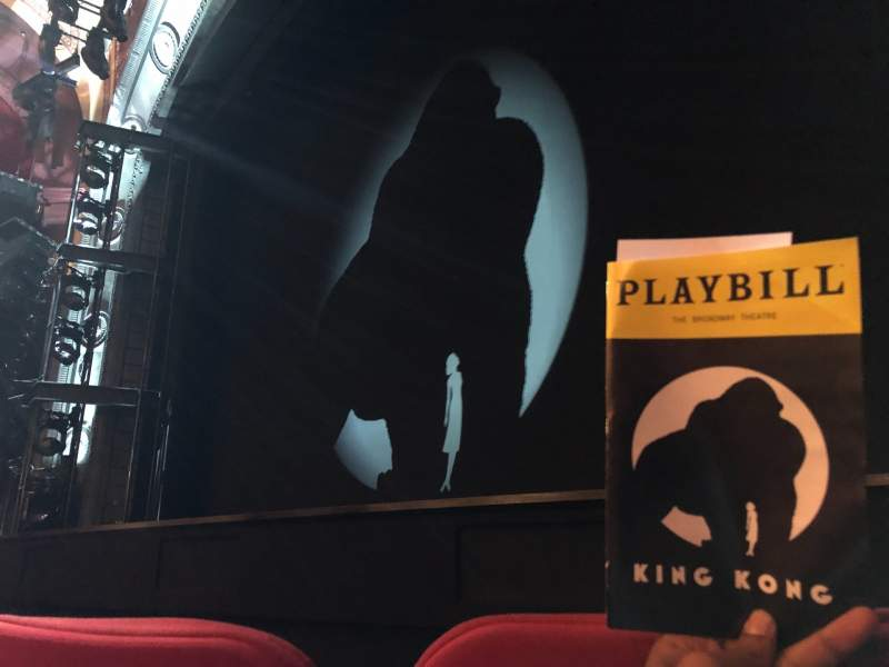 Seating view for Broadway Theatre - 53rd Street Section Orchestra Row C Seat 9