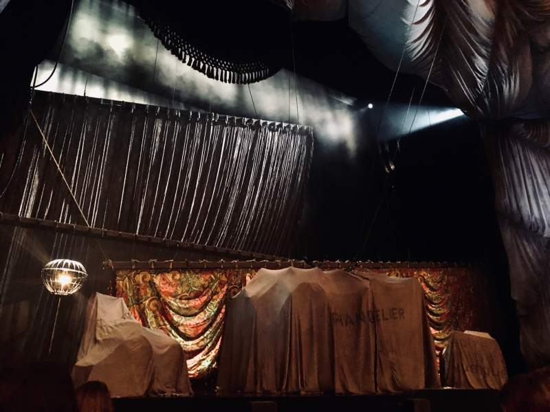 Seating view for Majestic Theatre Section Orchestra L Row B Seat 1