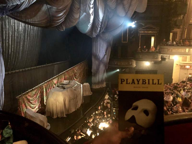 Seating view for Majestic Theatre Section Box G Seat 6