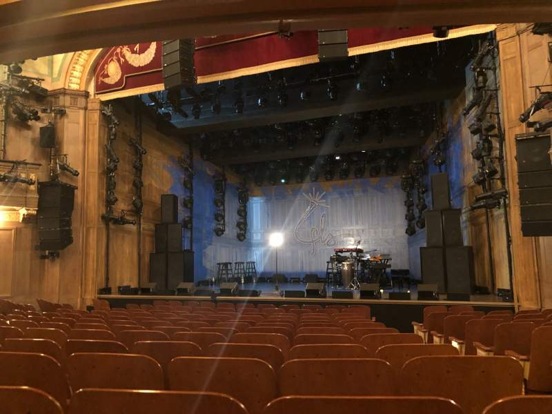 Seating view for Booth Theatre Section Orchestra  Row L Seat 119