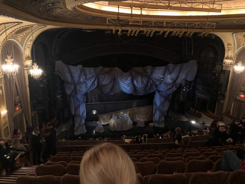 Seating view for Majestic Theatre Section Rear Mezzanine LC Row J Seat 125