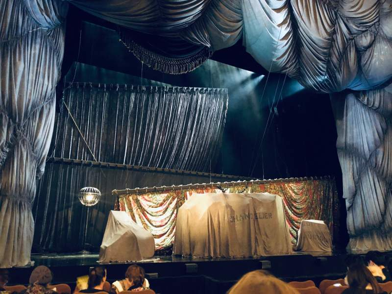 Seating view for Majestic Theatre Section Orchestra L Row E Seat 5