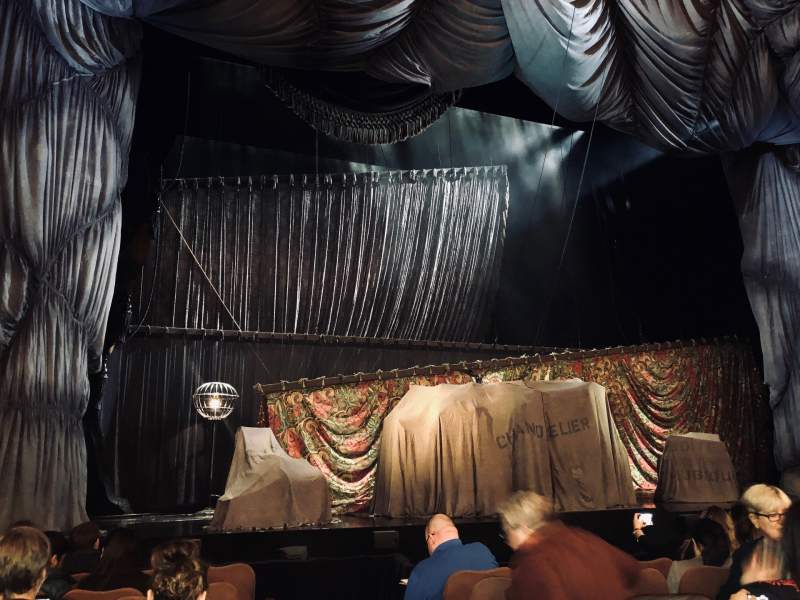 Seating view for Majestic Theatre Section Orchestra L Row E Seat 1