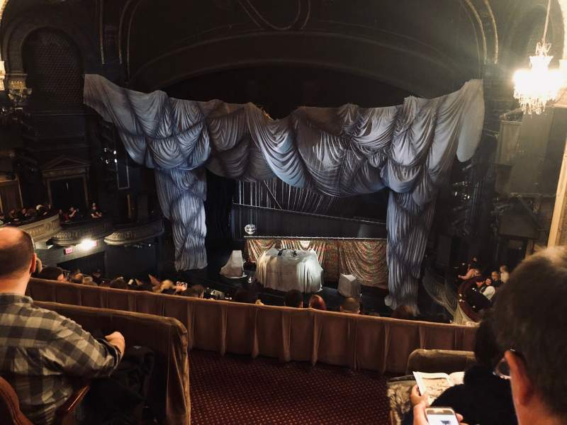 Seating view for Majestic Theatre Section Rear Mezzanine R Row C Seat 2